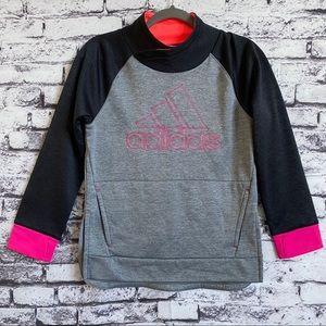 Adidas Girls Pull Me Over Sweat Shirt